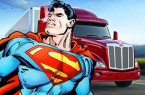Superman And Truck